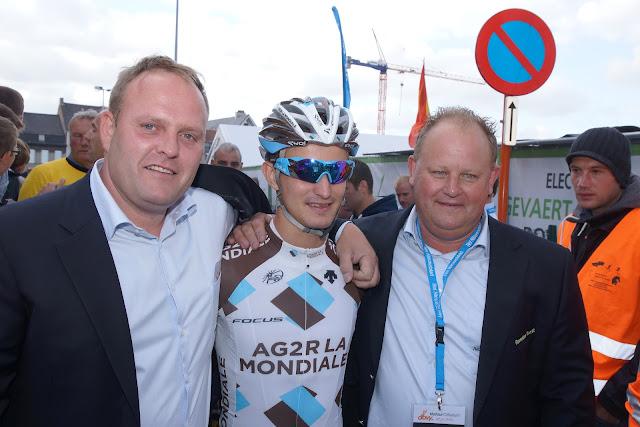 Bjorn Gevaert, Alexis Vuillermoz en Filip Beerland