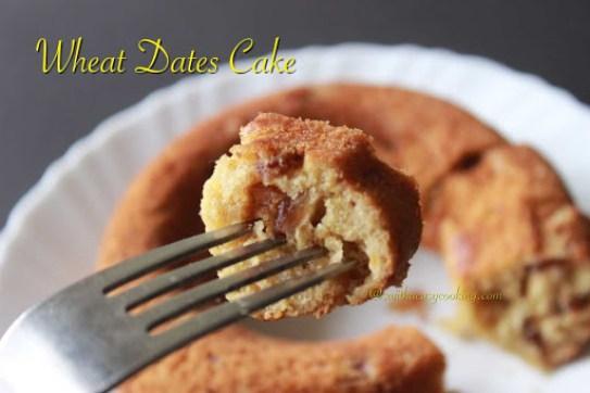 Wheat Dates Cake4