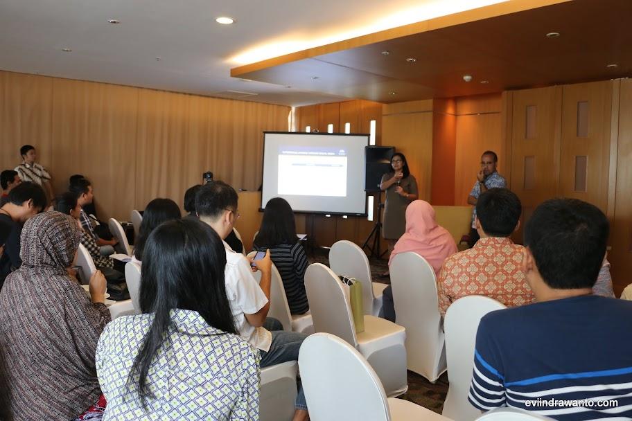 Briefing sebelum mengikuti Batu Hijau Bootcamp Sumbawa