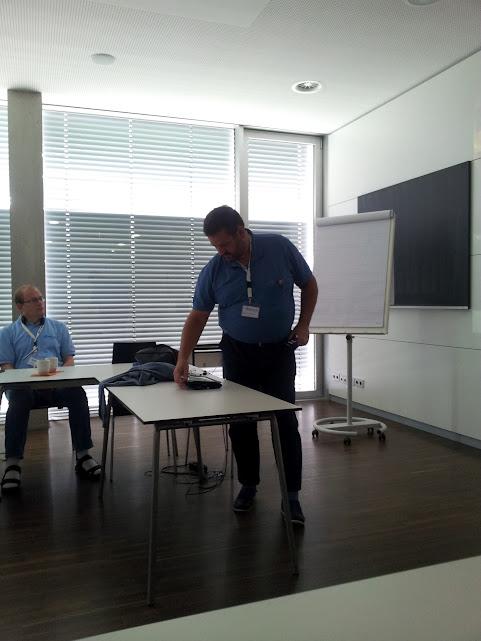 Bild von Andreas Lohrum während seiner Session