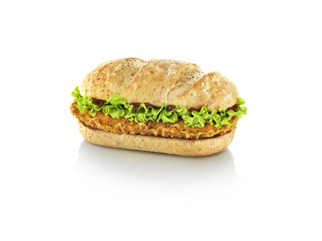 McDonald's Chicken Legend with BBQ Sauce