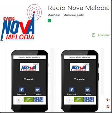 App  Radio Nova Melodia