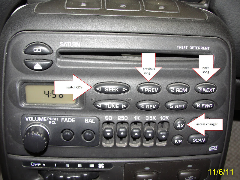 saturn sc2 radio wiring diagram pioneer deh p7000bt what does a factory with cd changer controls look like? - saturnfans.com forums