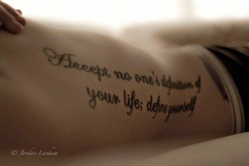 Girl Tattoo Quotes