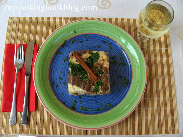 Пастичо (παστίτσιο) Пастицио или Макарони на фурна с кайма и бешамел