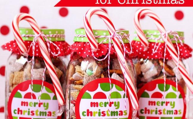 How To Make Handmade Chex Mix Holiday Gifts Bonus Free Printable