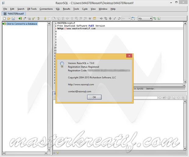RazorSQL 7.3.14 Crack With License Key