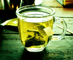 té verde - tés para bajar de peso