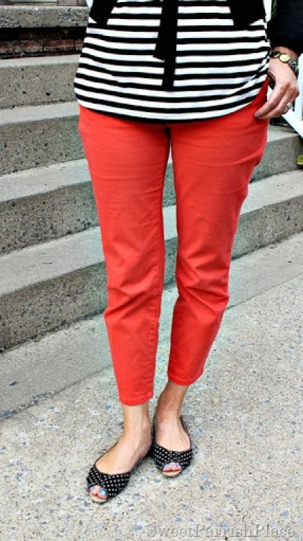 coral-jeans-black-striped-shirt-black-cardigan3
