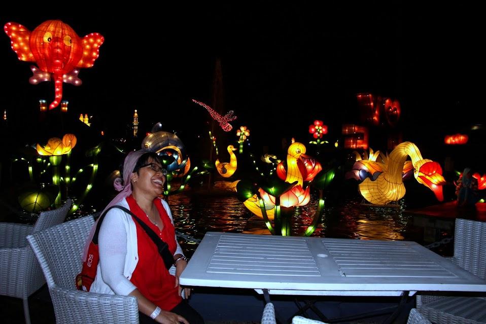 Foto wisata batu night spectacular