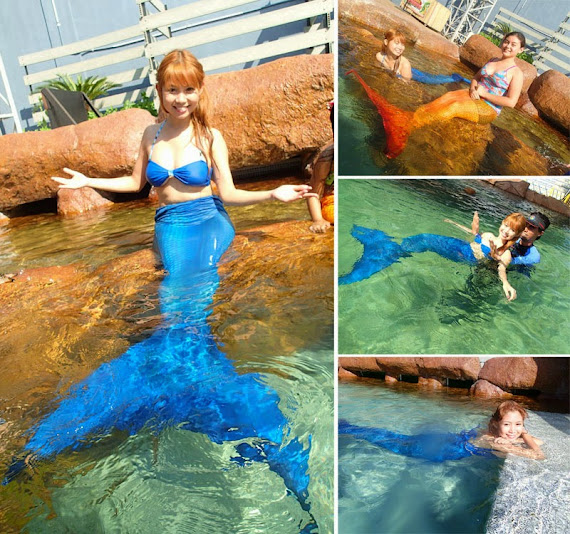 mermaid swim manila ocean park