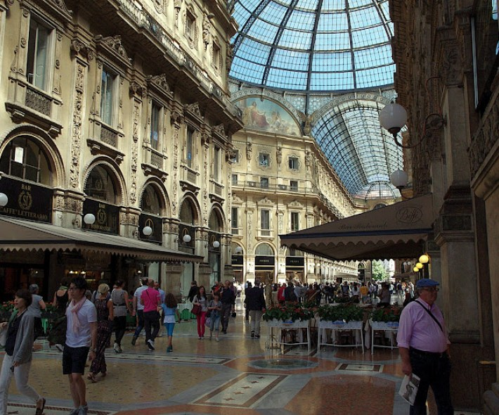 galería comercial Vittorio Emanuel II