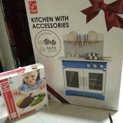 Hape Kitchen Shaker Cabinet Doors 德國hape 廚房玩具 安全無毒不銹鋼廚具 Kobie The Little Fish Hape厨房