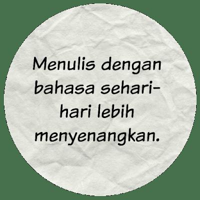 Menulis Blog Pribadi