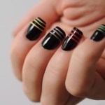 Best Stripes Nail Art 2017