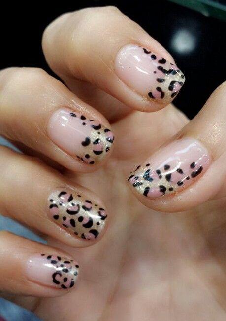 35 Nail Design Ideas For The Latest Autumn Winter Trends: 35 Cheetah Nail Art Designs Ideas
