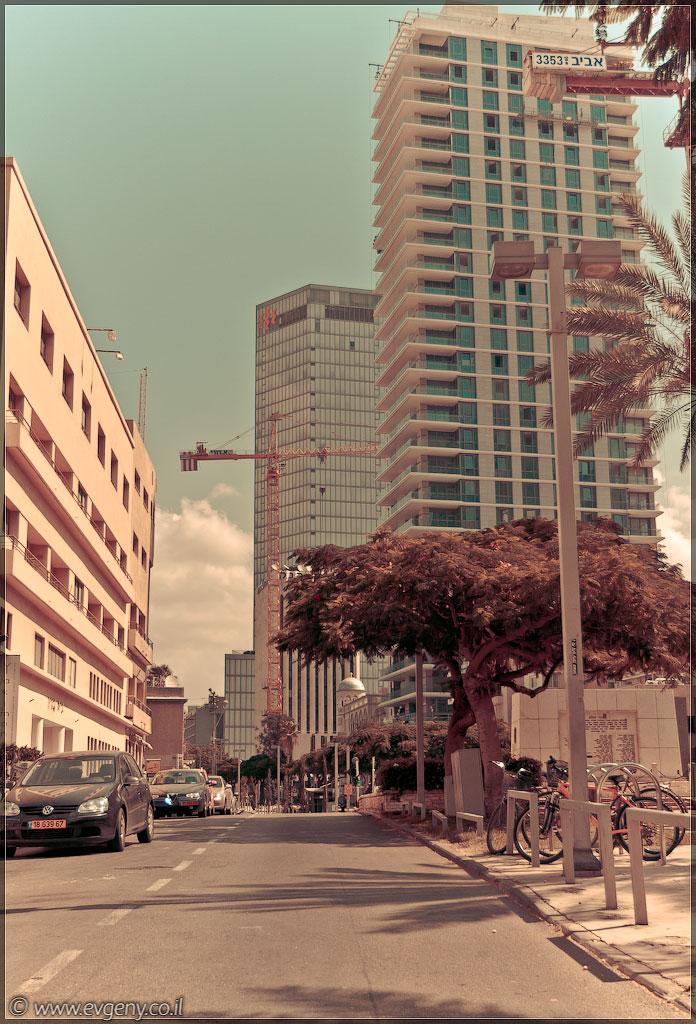 Тель Авив, бульвар Ротшильд