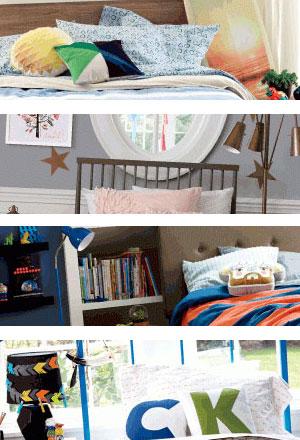 Decorar dormitorios infantiles.