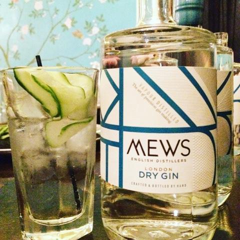 Gin tasting @Colonel Fawcett - Mews gin