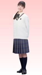 宮崎日本大学高等学校の女子の制服3