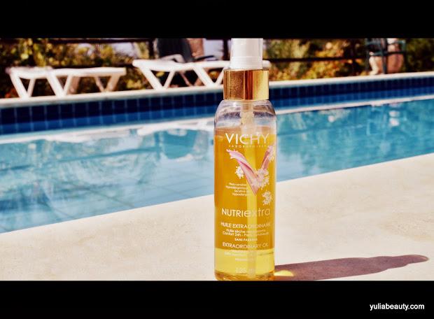 масло для тела и волос Vichy Nutriextra Huile