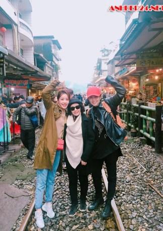 Chuyến du lịch Đài Loan vui hết nấc của Chi Pu - Gil Lê và mẹ