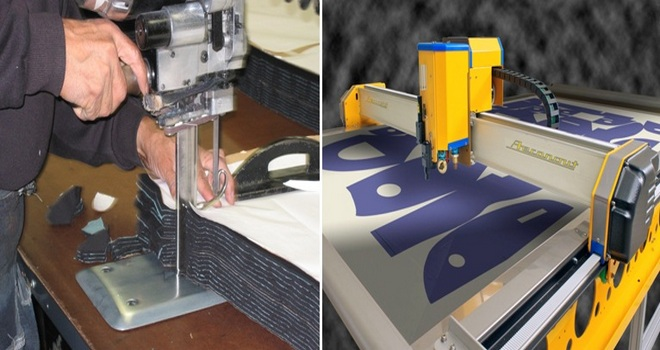 Fabric Cutting method