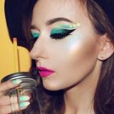 tropical eye makeup designs 2017