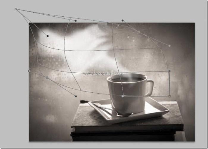 trik efek asap putih adobe photoshop tutorial