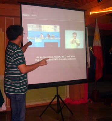 Sir Jojo explains about Accessible ICT Video
