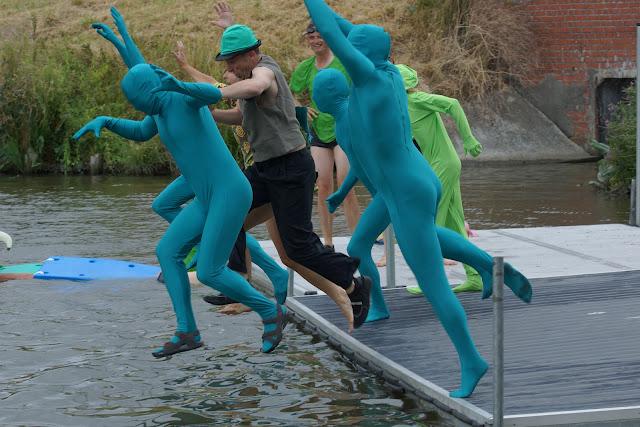 Groen springt
