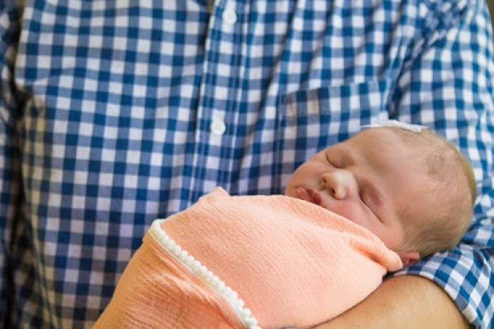 Addison newborn hospital photos