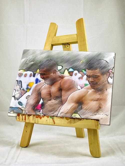 Membuat foto menjadi lukisan dengan photoshop