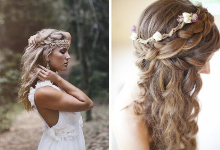 WATERFALL LOOK FOR AFRICAN BRIDE HAIR STYLES 1