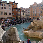 Rome on easter week is jam-packed with tourists.