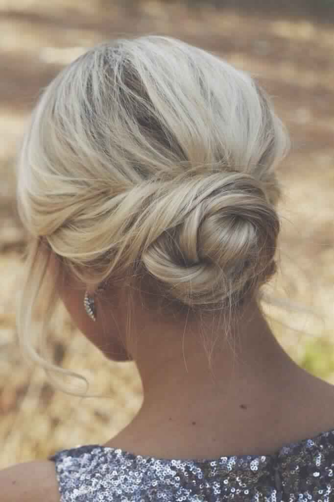 Twisted Chignon for Women