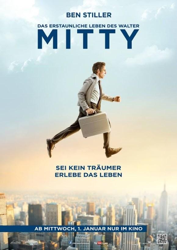 Das erstaunliche Leben des Walter Mitty -Plakat
