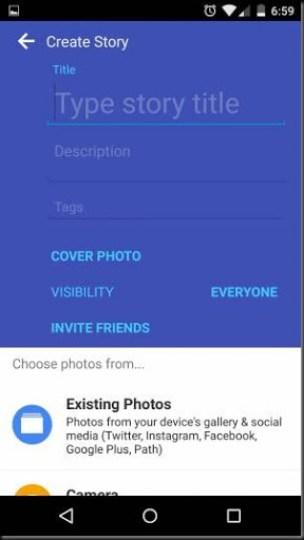 cara mengambil foto dari social media internet