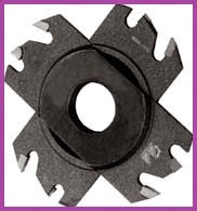slot milling Cutter having brazed plates, which are based hard alloy