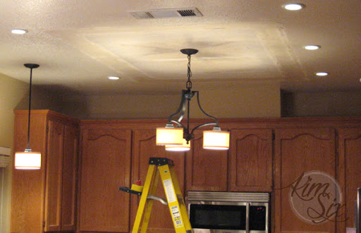 replace fluorescent light fixture in kitchen soup volunteer northern va removing a box the kim six fix replacing flourescent lamp with fixtures