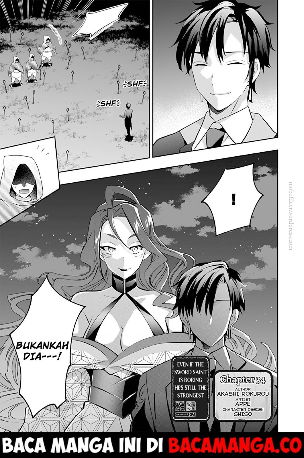 Jimi na Kensei wa Sore Demo Saikyou desu: Chapter 34 - Page 1