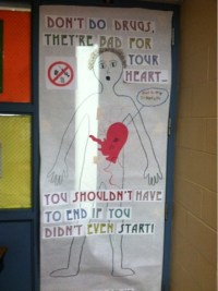 1000 Images About Red Ribbon Week Door Decorating Ideas