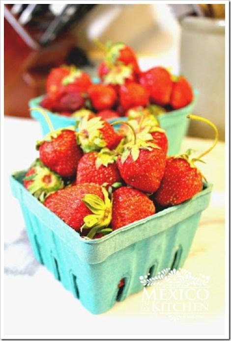 Strawberries and cream  - fresas con crema