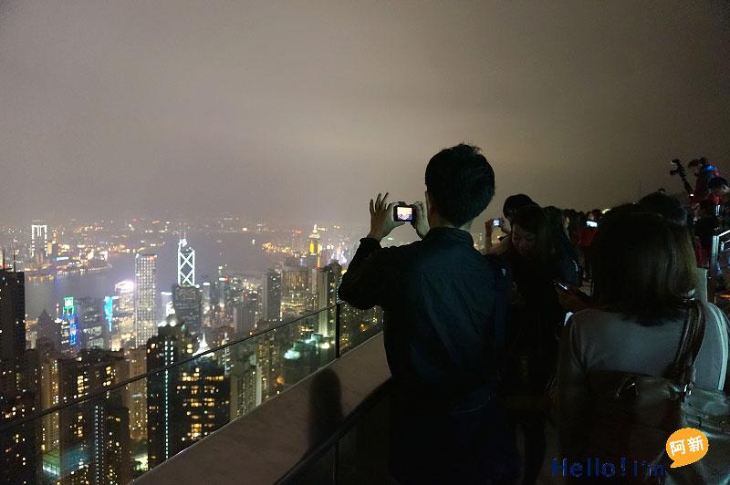 香港夜景,太平山夜景,凌霄閣摩天台428-2