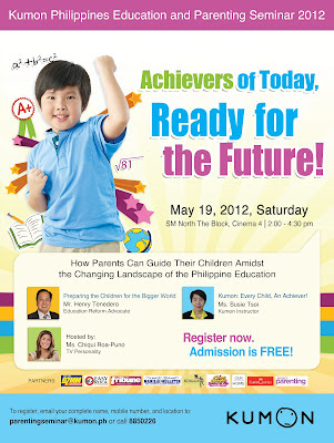 Kumon Philippines Education and Parenting Seminar 2012 (KPEPS)