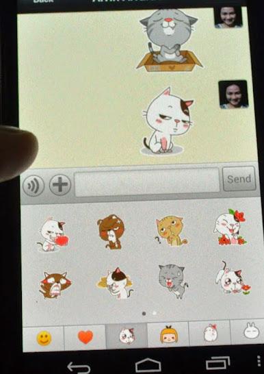 WeChat Sticker personality - Emoticats - Drew Arellano