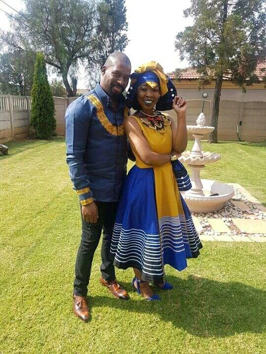 African Shweshwe Dresses