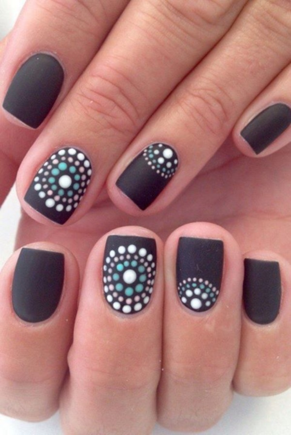 Cute Black Nail Ideas And Polish Designs | Pretty 4