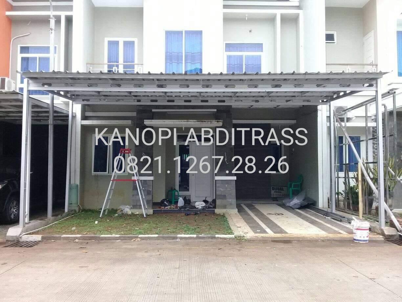 canopy baja ringan tanpa tiang harga kanopi