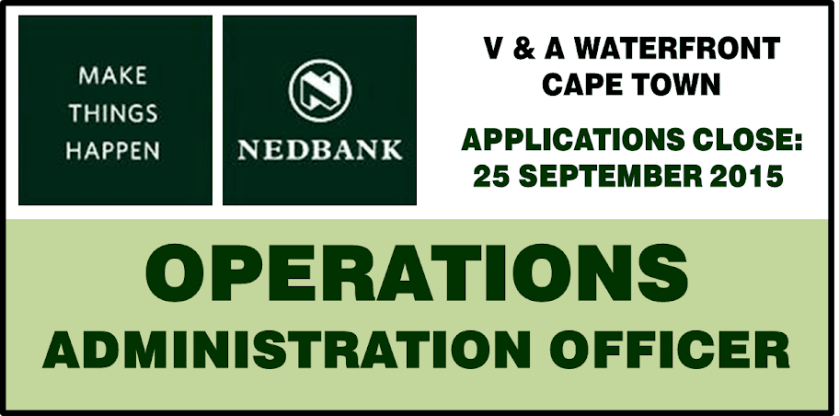 OPERATIONS AND ADMINISTRATION OFFICER